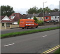 ST3091 : Orange van, Malpas Road, Newport by Jaggery