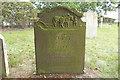 TM4276 : The headstone of Samuel Croft by Adrian S Pye