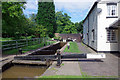 SP3098 : Atherstone Lock 5, Coventry Canal by Stephen McKay