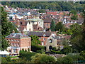 SO5074 : Ludlow viewed from the Whitcliffe Common Nature Reserve by Mat Fascione