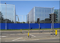 TL4661 : Reflective glass on the Science Park by John Sutton
