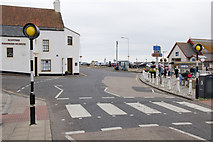 NO5603 : Zebra Crossing, Shore Street, Anstruther by Mark Anderson