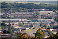 SD6827 : View towards Blackburn from the Panopticon in Corporation park by David Dixon