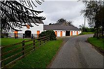 H5672 : Farm buildings along Shinnagh Road by Kenneth  Allen