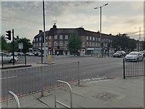TQ2688 : Crossroads on Market Place, Hampstead Garden Suburb by David Howard