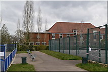 TQ5840 : Tennis Courts, St John's Recreation Ground by N Chadwick