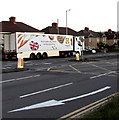 ST3090 : Lidl articulated lorry, Malpas Road, Newport by Jaggery
