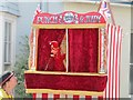 SU5832 : Alresford Watercress Festival - Punch and Judy by Colin Smith