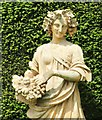 TQ1352 : Polesden Lacey - Classical Statue by Colin Smith