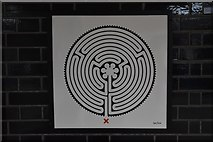 TQ1779 : Labyrinth #261, Northfields Station by N Chadwick