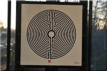 TQ1779 : Labyrinth #260, South Ealing Station by N Chadwick