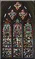 ST5545 : Window nIV, Wells Cathedral by Julian P Guffogg