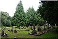 NZ4238 : Graveyard at St James Church, Castle Eden by Ian S