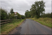 NZ3621 : Minor road toward Bishopton by Ian S