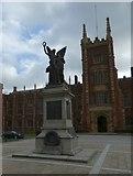 J3372 : Queen's University War Memorial by Gerald England