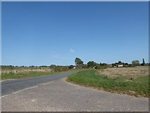 TM0035 : Constable, that's a Gainsborough: junction of Wick Lane with the  A1068 by Basher Eyre