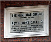 J3473 : The Memorial Church by Gerald England