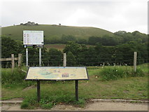 ST6601 : Cerne Abbas Giant viewpoint by Malc McDonald