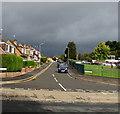 ST3091 : Dark grey clouds, Malpas, Newport by Jaggery