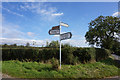 NZ2223 : Road sign on White House Lane by Ian S