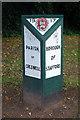 SJ9126 : Borough of Stafford Boundary Post by Stephen McKay