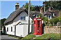 ST9910 : Former telephone box, Gussage All Saints by David Martin