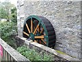 NX5956 : Mill wheel by Oliver Dixon
