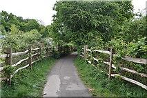 TQ5940 : Footpath to Dorking Rd by N Chadwick