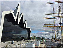 NS5565 : Riverside Museum and Tall Ship, Glasgow by Paul Harrop