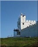 SH4793 : Point Lynas Lighthouse by Gordon Hatton