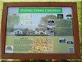 SU9097 : Information Board at Holmer Green Common by David Hillas
