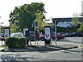 SD6078 : Car charging points at Booth's supermarket by Stephen Craven