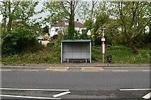 TQ5743 : Bus stop, A26 by N Chadwick