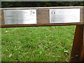 SU9296 : Two Inscriptions on a seat at Penn Street Common by David Hillas