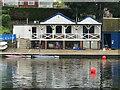 TQ1768 : Surbiton - Rowing Club by Colin Smith