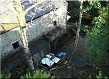 NS5574 : Water wheel, Gavin's Mill by Richard Sutcliffe