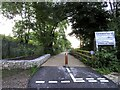SP5201 : National Cycle Route 5 in Kennington by Steve Daniels