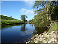 SE0162 : The River Wharfe from the Dales Way by Chris Holifield