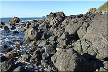 NX0986 : Weathered Lava by Anne Burgess
