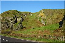 NX1391 : Roadside at Pinbane by Anne Burgess
