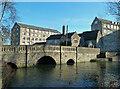 ST9386 : Avon Mills and St John's Bridge, Malmesbury by Chris Allen