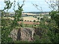 SK4023 : Breedon quarry and farmland east of it by Christine Johnstone