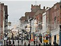 SU9949 : Guildford - Festive High Street by Colin Smith