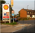 SO5012 : September 22nd 2020 Shell fuel prices, Monmouth by Jaggery