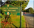 SO5012 : Welcome to Monmouth - Bee Town by Jaggery