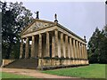SP6737 : The Temple of Concord and Victory, Stowe Park by Philip Cornwall