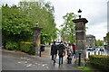SE2955 : Park gates, Valley Gardens by N Chadwick