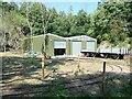 SK5614 : Mountsorrel Granite railway wagons by Christine Johnstone