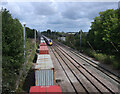 TL2371 : East Coast Mainline, Huntingdon by Hugh Venables