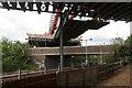 TL2371 : Huntingdon viaduct removal by Hugh Venables